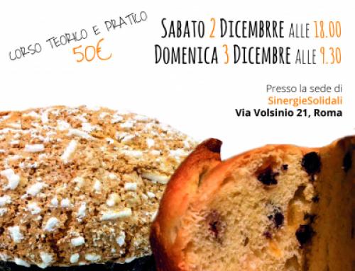 Corso panettone FACILE 2 e 3 dicembre a Roma