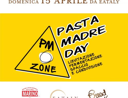 Pasta Madre Day 2018, il 15 aprile vieni a trovarci nei negozi Eataly! #pmzone2018 #pmday2018