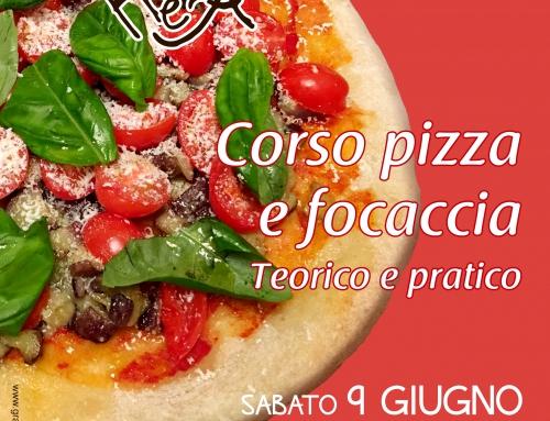 Corso Pizza e focaccia al Caffè Letterario, sabato 9 giugno a Roma ore 9.30