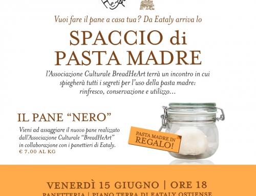 Nuovo incontro presso Eataly Roma venerdì 15 giugno