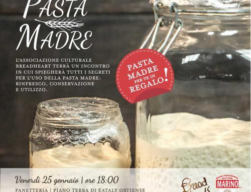 Ci vediamo da Eataly Roma Ostiense venerdì 25 gennaio
