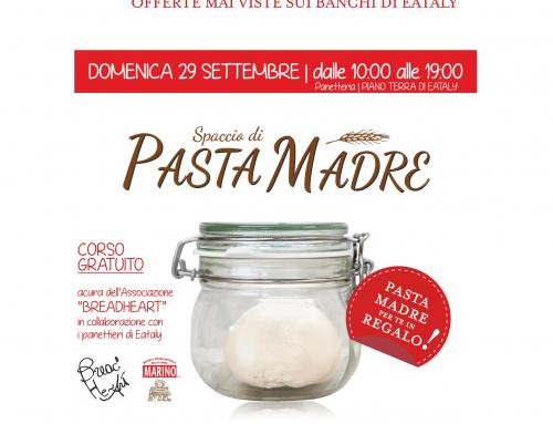 Pasta Madre Day 2019 domenica 29 settembre presso Eataly